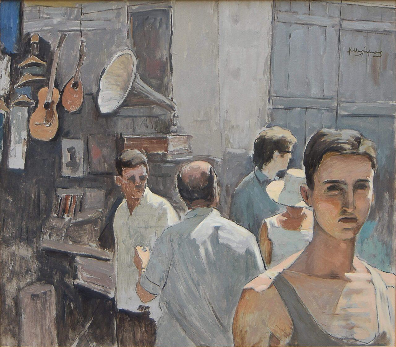 102. MALAMOS Costas (1913 - 2007)