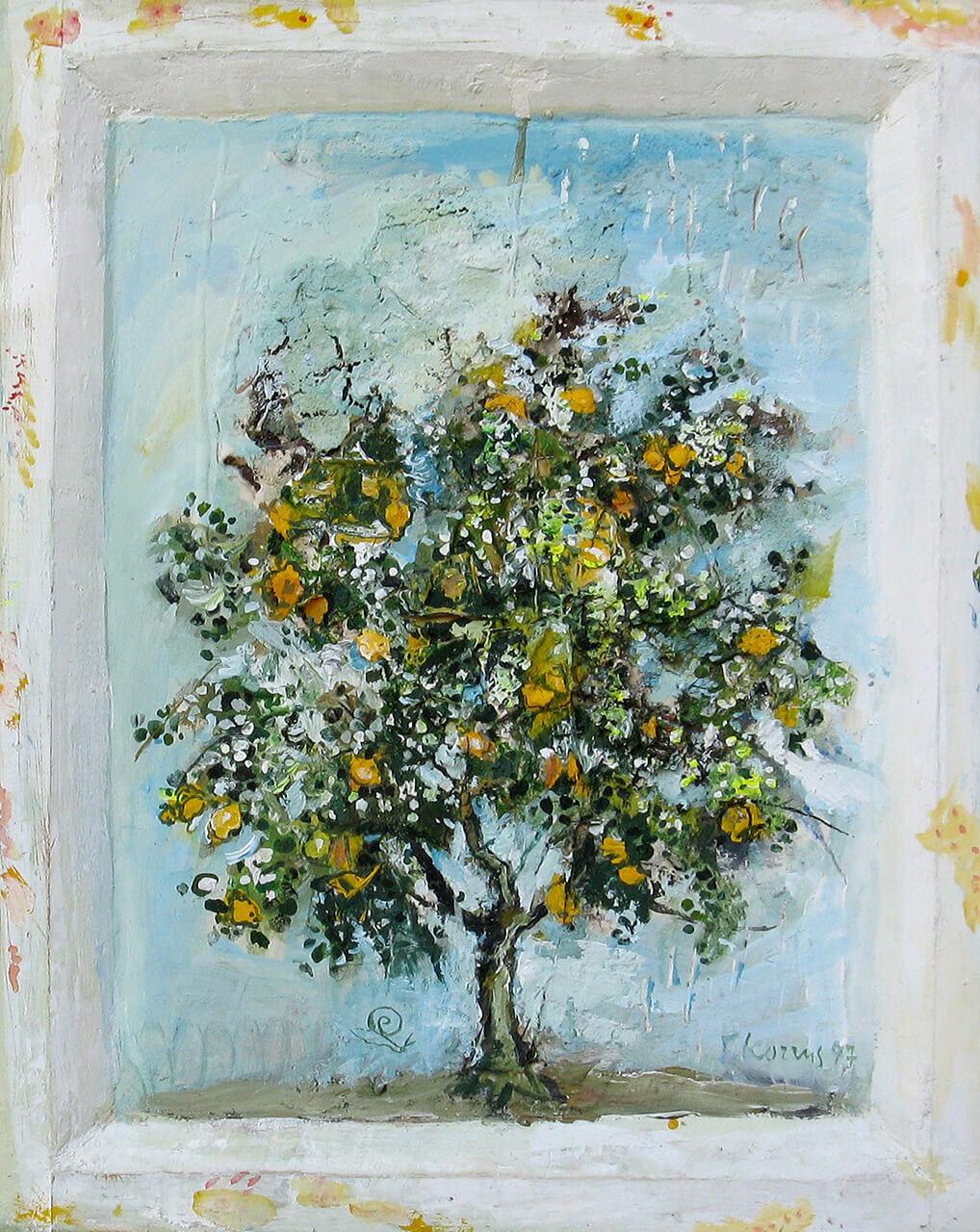 116a KOTTIS 'Quince tree' Kydonia 1997 mix.med.o.w.54X44 R1.5 (34a Dimitria)