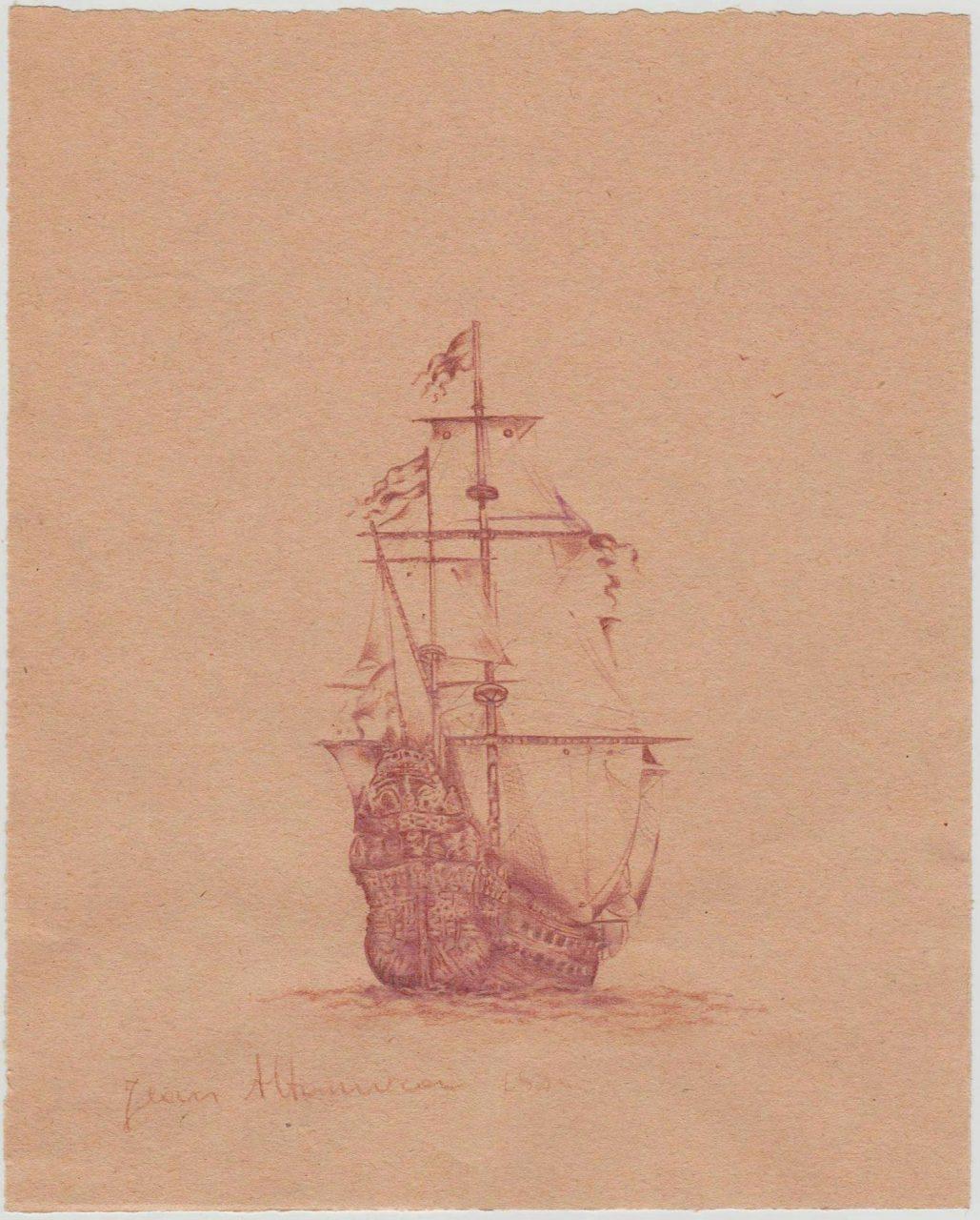 18a ALTAMURA (1852-1878) paper 18x15