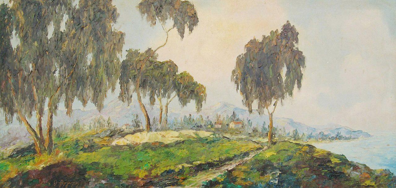 31a 'Landscape' ooc 54X112 cm ARGYROS