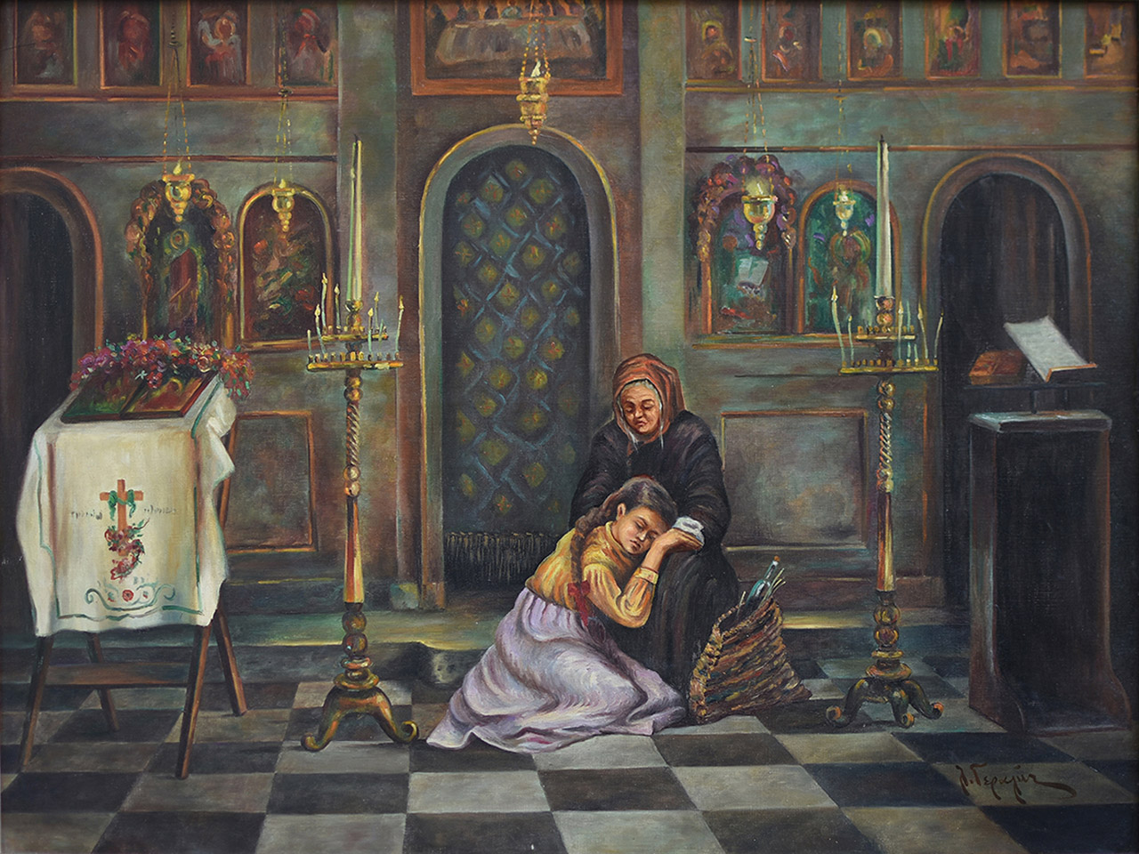 035. ΓΕΡΑΛΗΣ Λουκάς  (1875 - 1958)