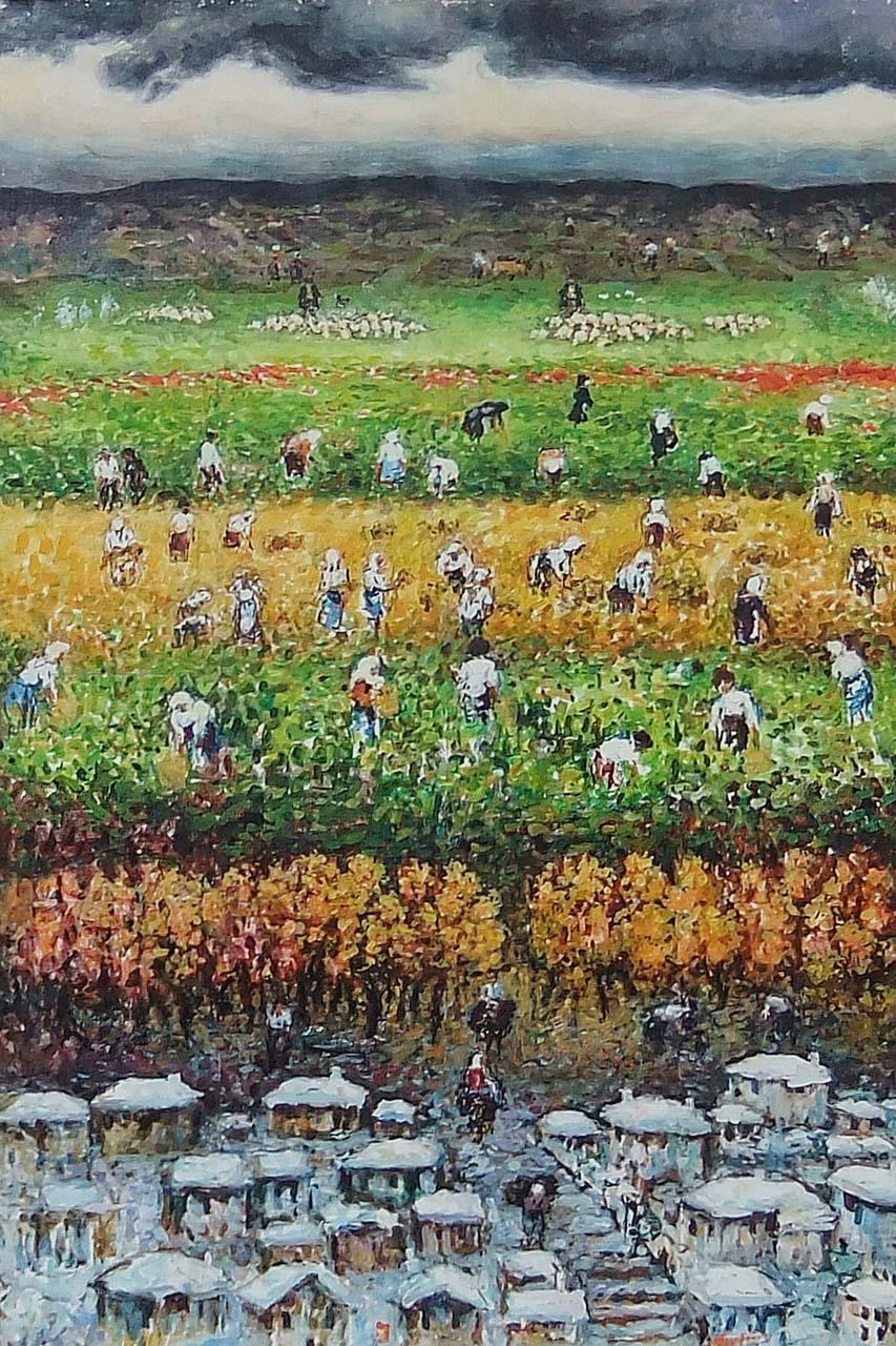 113a DSCF0510 Dourdoufis Giorgos (1907-1995) 4 seasons