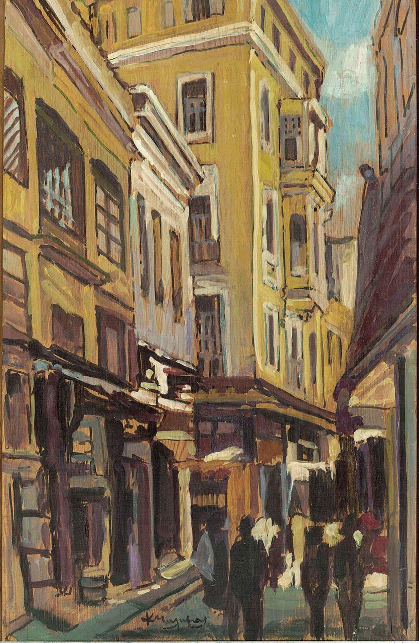 021. ΜΑΛΑΜΟΣ Κώστας  (1913-2007)