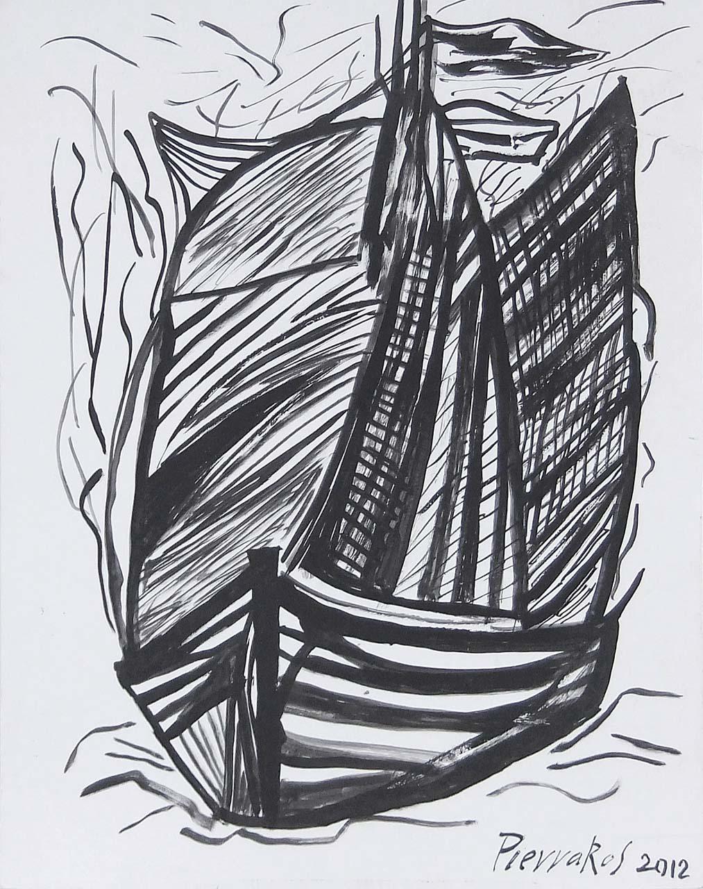 080. PIERRAKOS Alkis (1920 - 2017)