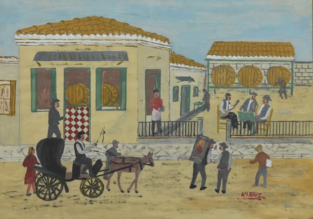 114. PANOPOULOS Christos (Alopekas) (c1905-1980)