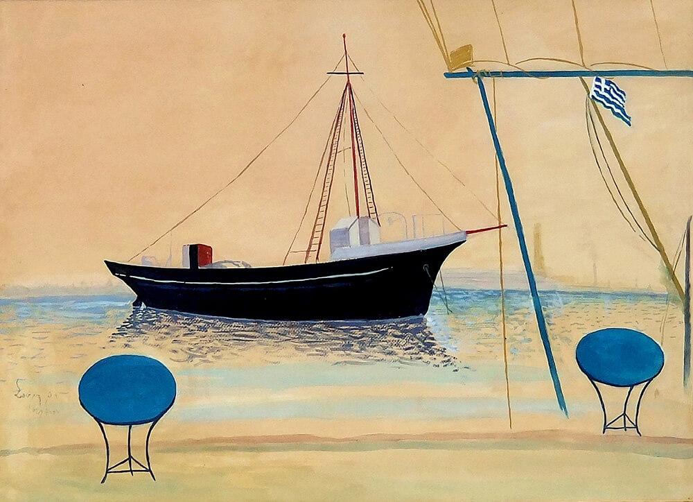 058. VASSILIOU Spyros (1902-1985)