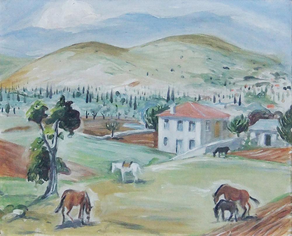 035. LEFAKIS Christos (1906-1968)