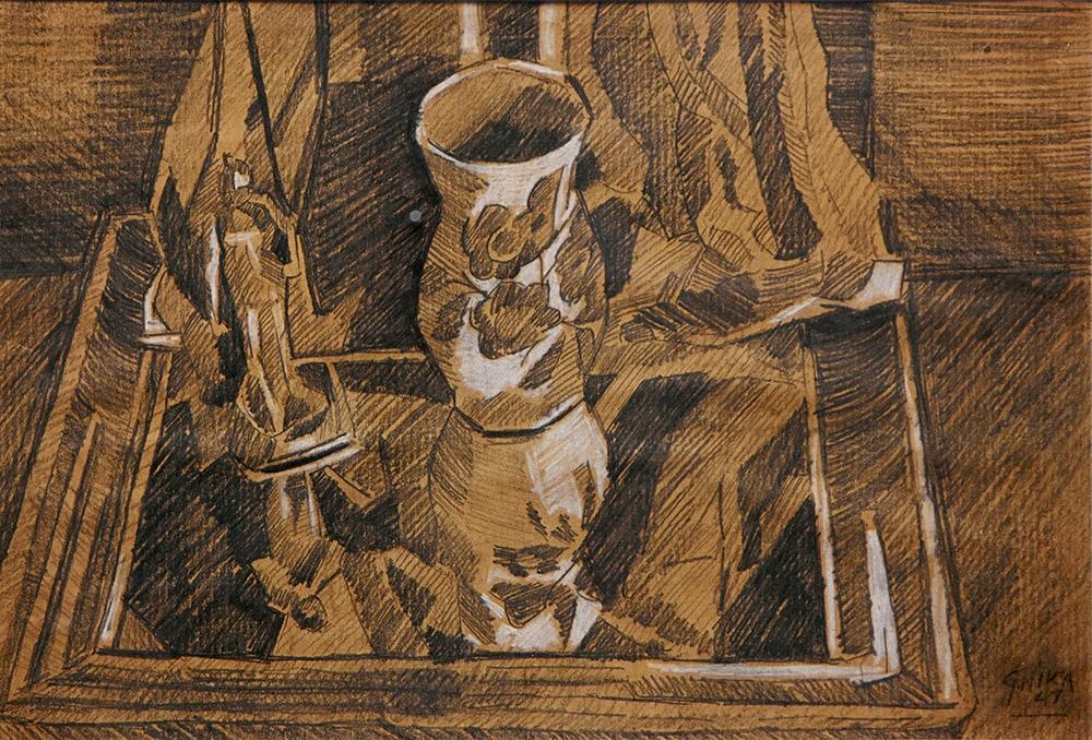 085. ΓΚΙΚΑΣ – ΧΑΤΖΗΚΥΡΙΑΚΟΣ Νίκος (1906-1994)