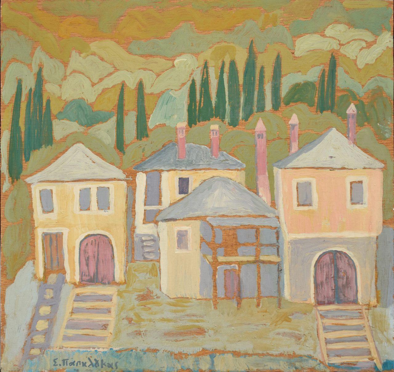 027. PAPALOUKAS  Spyros (1892-1957)