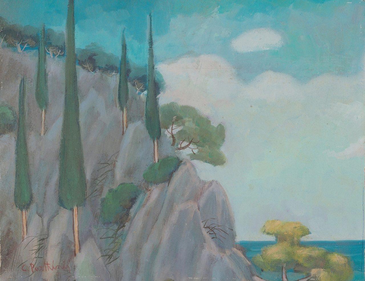 035. ΠΑΡΘΕΝΗΣ Κωνσταντίνος (1878-1967)