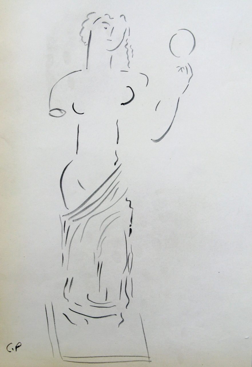 041. PARTHENIS  Constantinos (1878-1967)