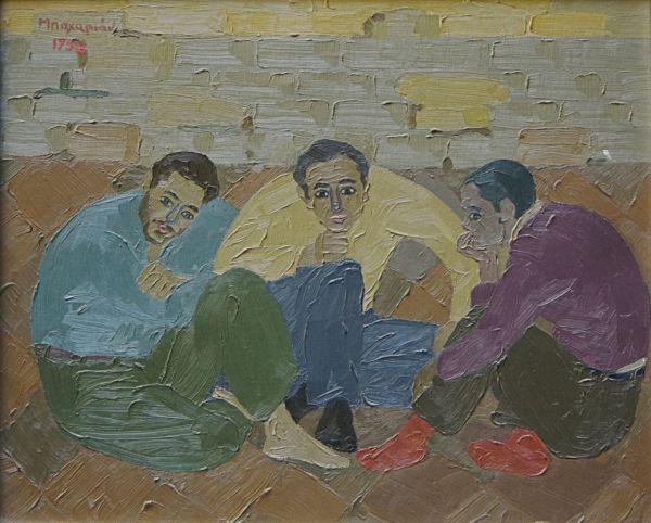 043. BAHARIAN Asantour (1924-1990)