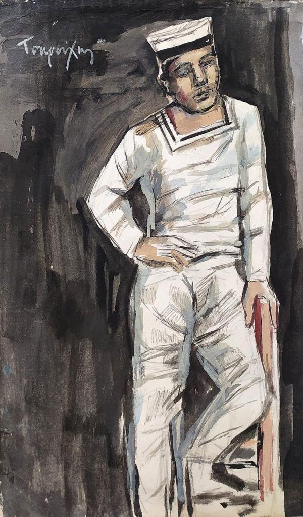 086. TSAROUCHIS Yannis (1910-1989)