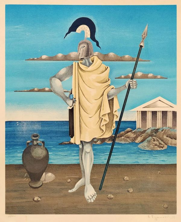 129. ΕΓΓΟΝΟΠΟΥΛΟΣ Νίκος (1910-1985)