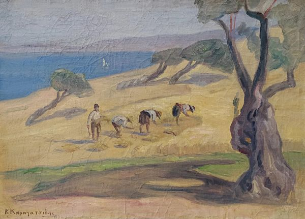 024. ΚΑΡΑΓΑΤΣΙΔΗΣ Κωνσταντίνος (1877-1965)