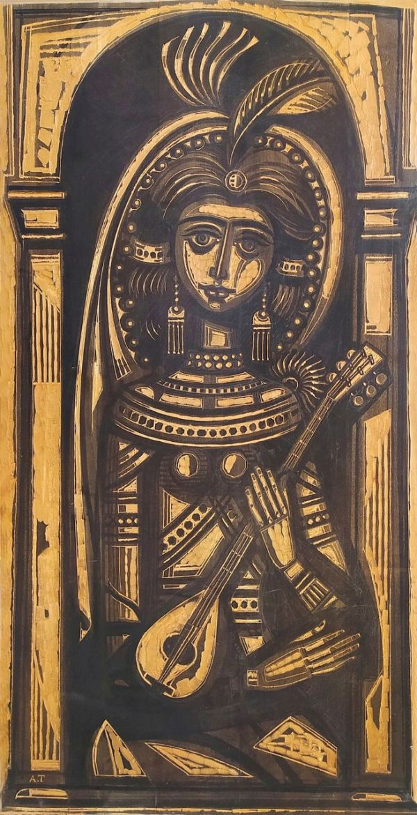 092. Α. ΤΑΣΣΟΣ (ΑΛΕΒΙΖΟΣ) (ΑΛΕΒΙΖΟΣ) (1914-1985)