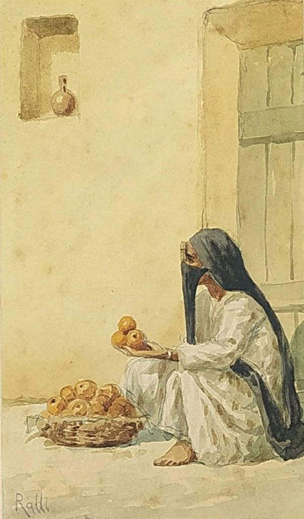 017. RALLI  Theodore  (1852-1909)